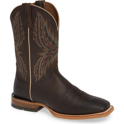 Ariat Arena Rebound Cowboy Boot- Brown
