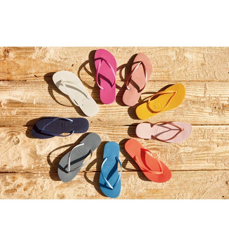 HAVAIANAS 'Slim' Flip Flop, Main, color, 021