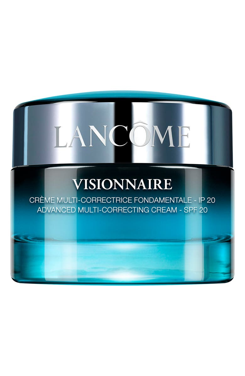 LANCÔME Visionnaire Advanced Multi-Correcting Cream Sunscreen Broad Spectrum SPF 20, Main, color, NO COLOR