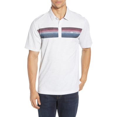 Travismathew Fredo Short Sleeve Knit Polo, White
