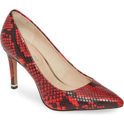 Kenneth Cole New York Riley 85 Pump- Red