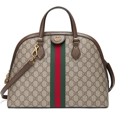 Gucci Dome Satchel - Beige