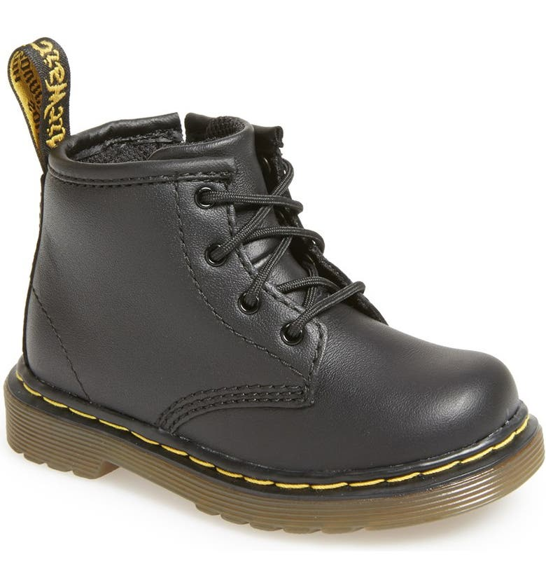 DR. MARTENS 'Brooklee' Boot, Main, color, BLACK