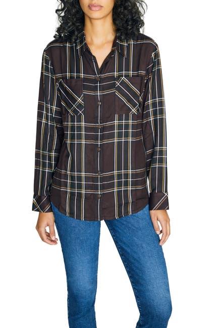 Image of Sanctuary New Generation Plaid Boyfriend Shirt