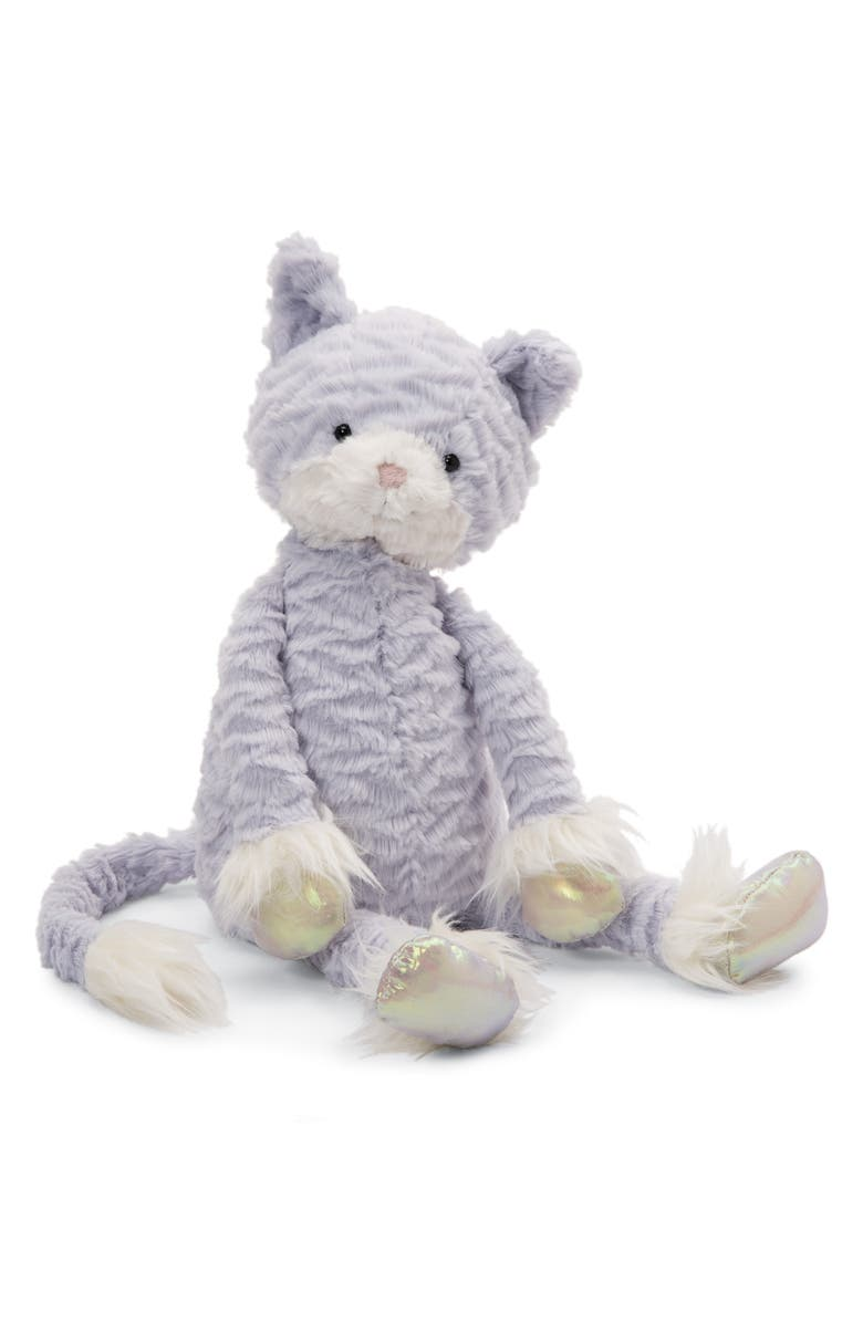 JELLYCAT Large Dainty Kitten Stuffed Animal, Main, color, LAVENDER