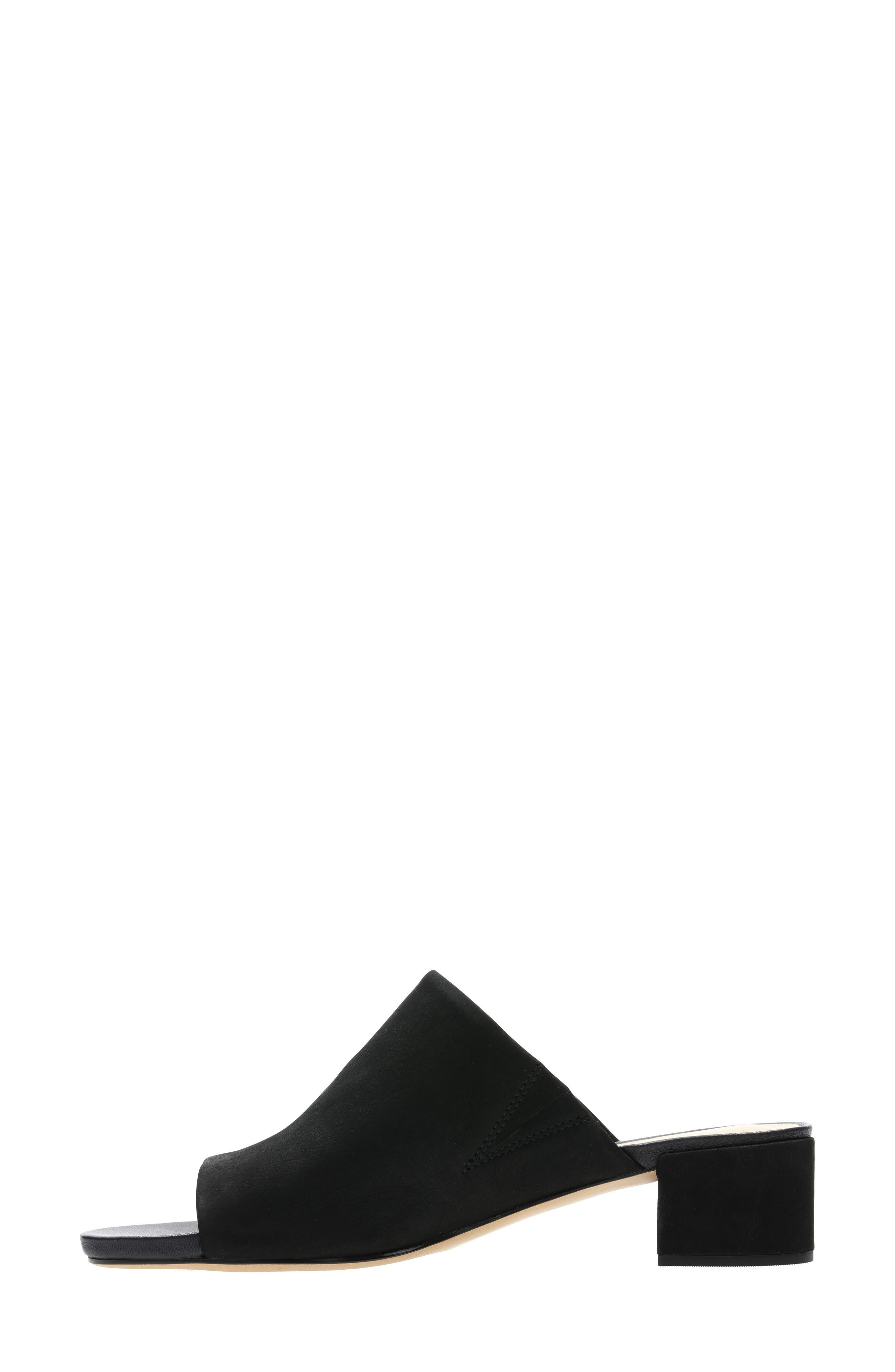 ,                             Orabella Daisy Sandal,                             Alternate thumbnail 7, color,                             BLACK NUBUCK