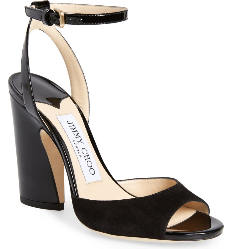 JIMMY CHOO Miranda Sandal, Main, color, 010
