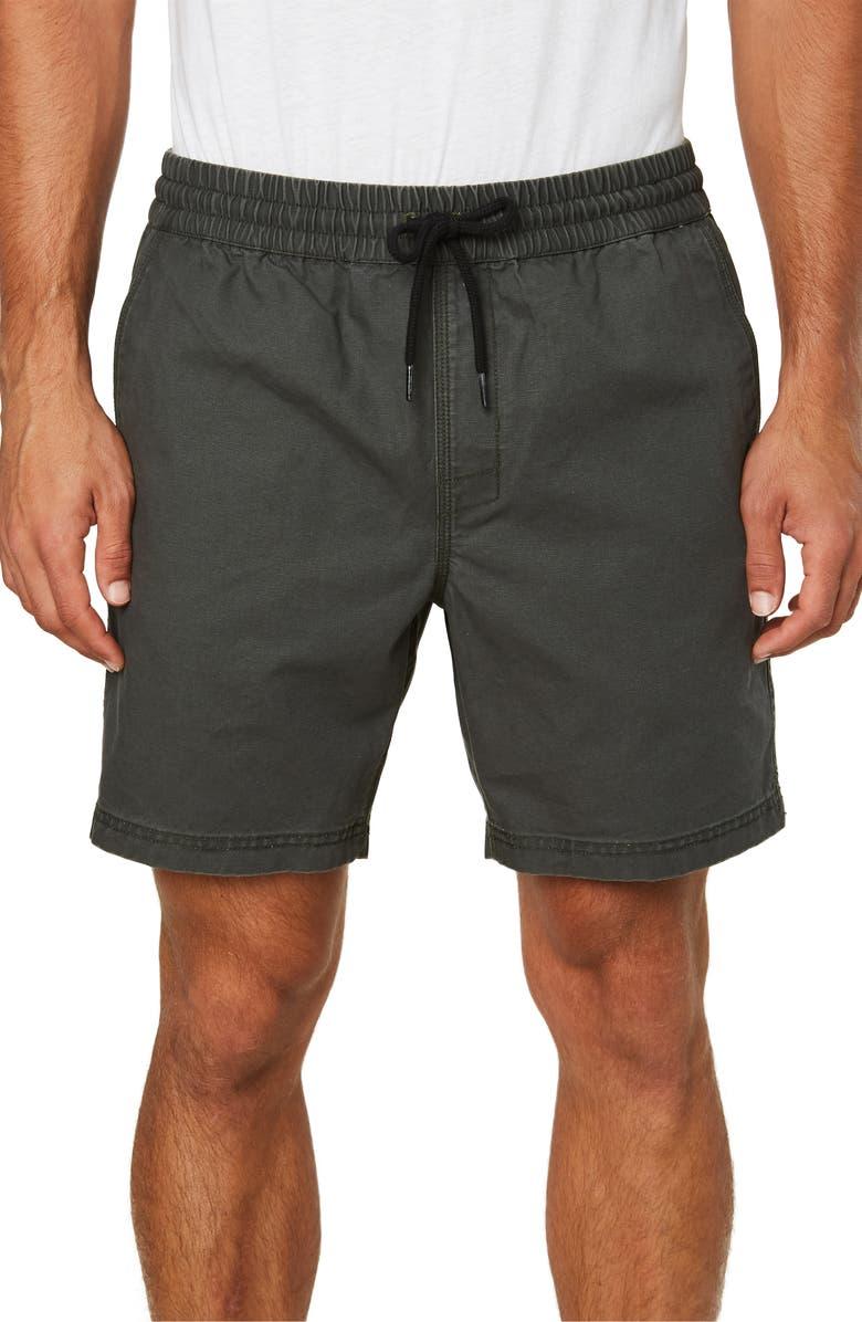 O'NEILL East Bay Drawstring Shorts, Main, color, GRAPHITE