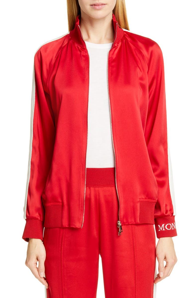 MONCLER Camicia Track Jacket, Main, color, 619