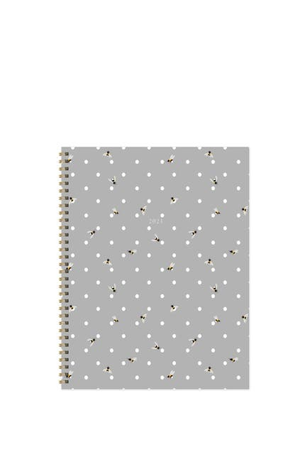 Image of TF Publishing 2021 Bee Dot Large Weekly Monthly Planner