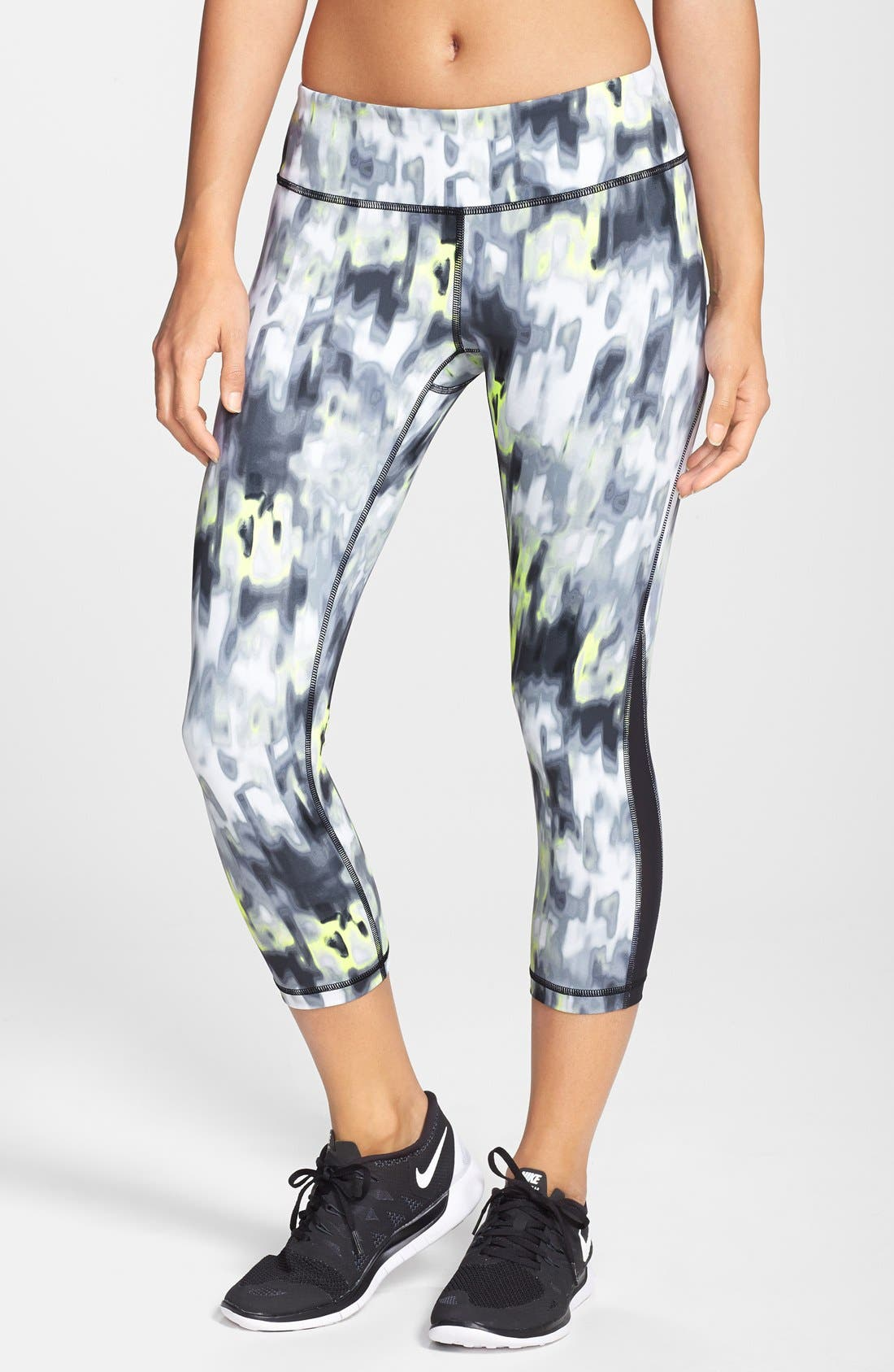 ,                             Live In Streamline Reversible Capris,                             Main thumbnail 17, color,                             021