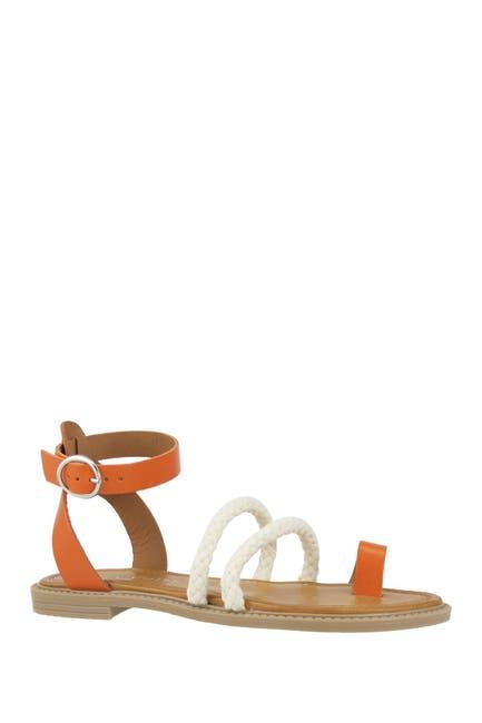 Image of RON WHITE Saralie Braided Toe Strap Sandal