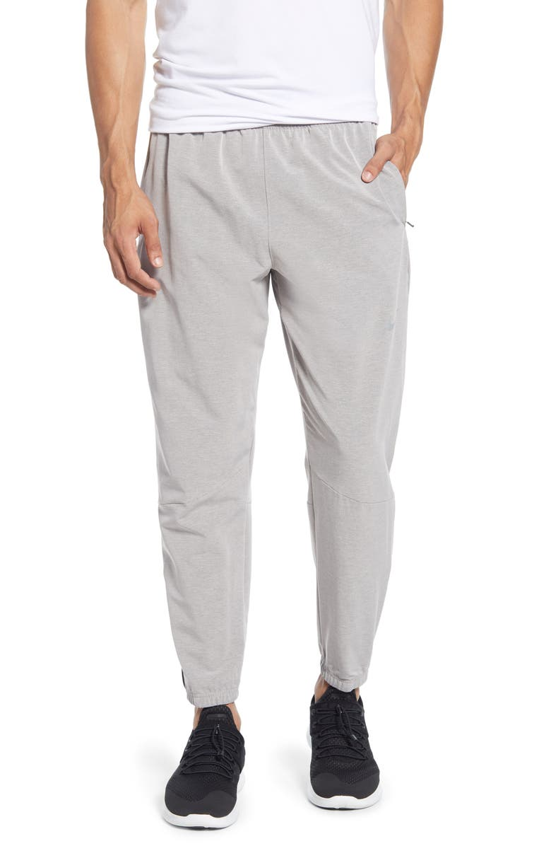 NIKE Phantom Essence Athletic Pants, Main, color, DARK SKY GREY/ SILVER