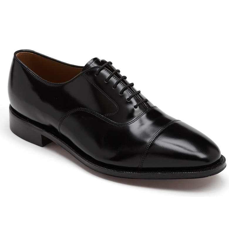 JOHNSTON & MURPHY 'Melton' Oxford, Main, color, Black