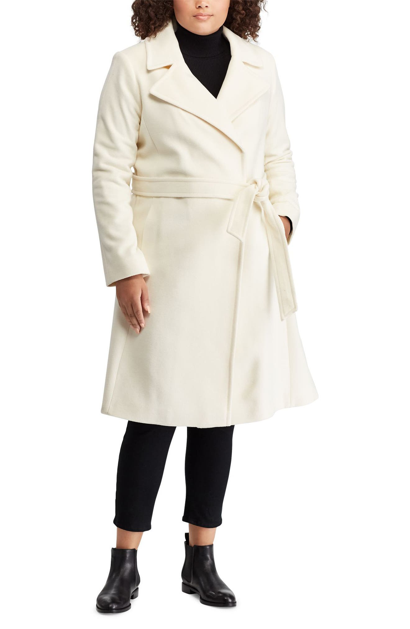 ,                             Wool Blend Wrap Coat,                             Alternate thumbnail 12, color,                             265