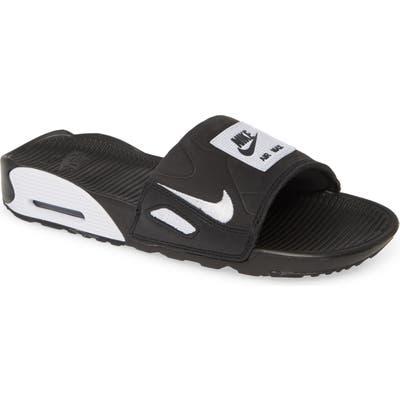 Nike Air Max 90 Sport Slide, Black