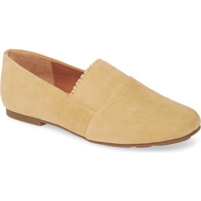 Gentle Souls Signature Lilah Ruffle Flat, Yellow