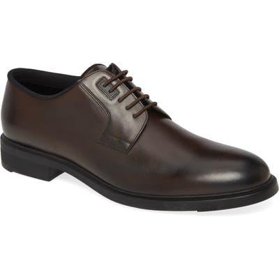 Boss Firstclass Plain Toe Derby, Brown