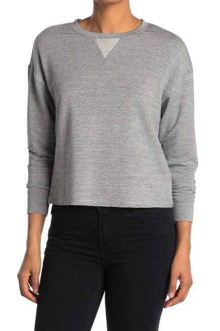 Image of FOR THE REPUBLIC French Terry Knit Top