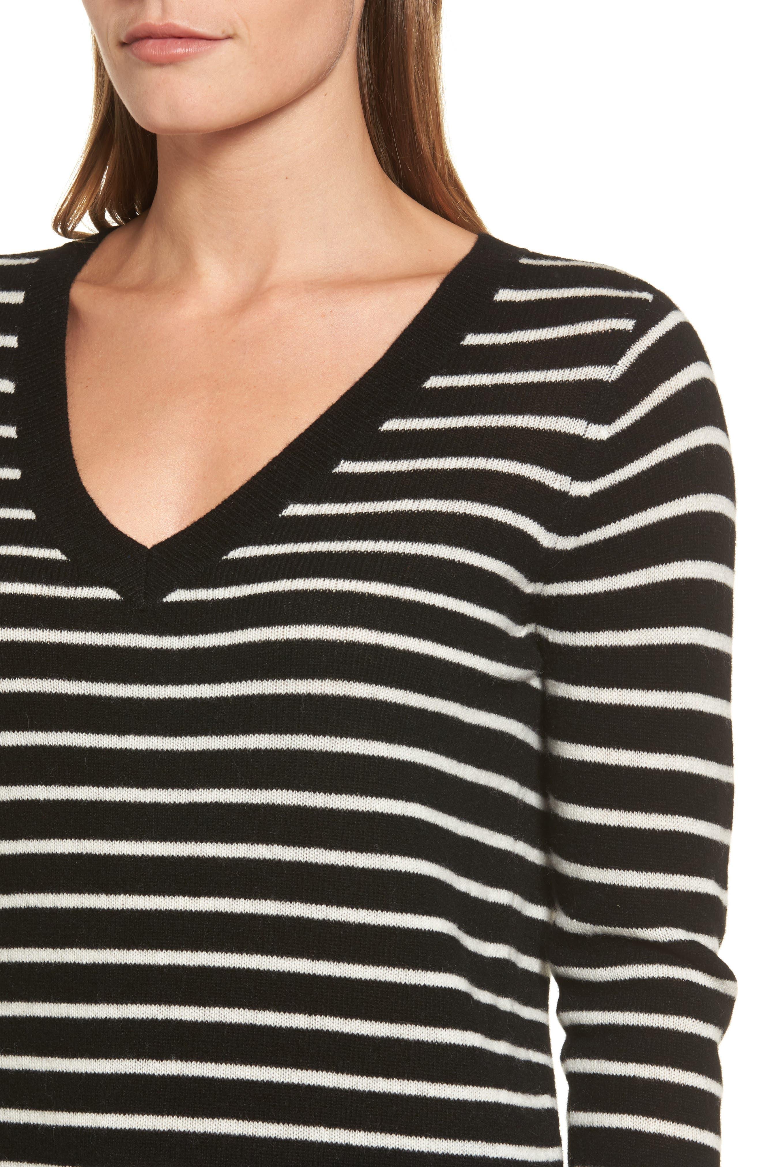,                             V-Neck Cashmere Sweater,                             Alternate thumbnail 10, color,                             003
