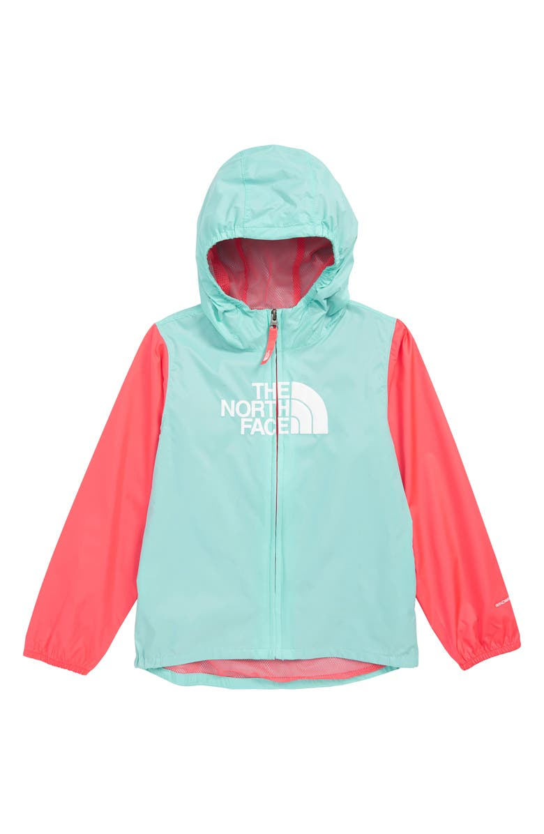 THE NORTH FACE Flurry Hooded Windbreaker, Main, color, 400