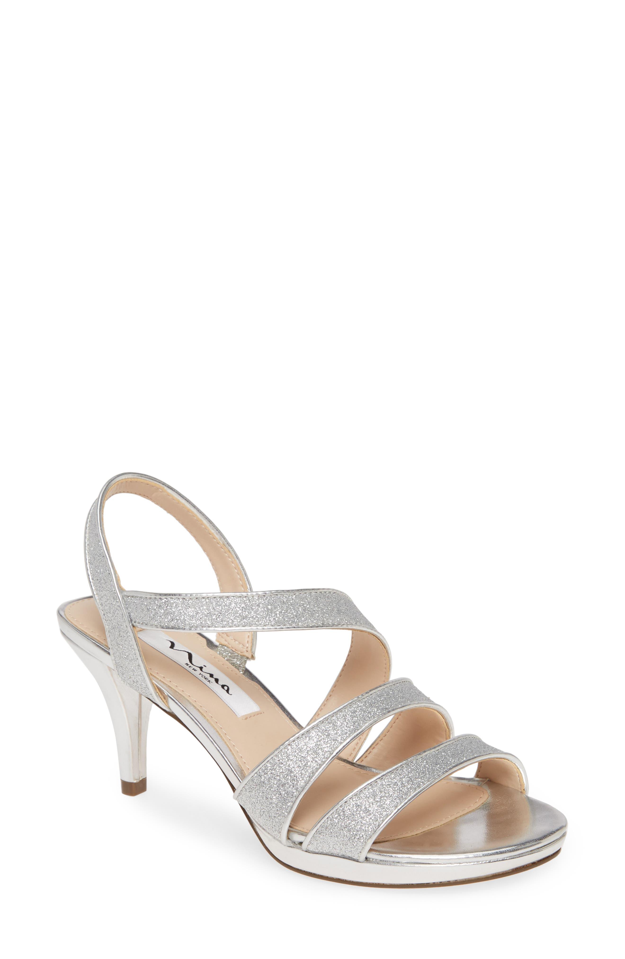 Nina Narice Glitter Sandal (Women)