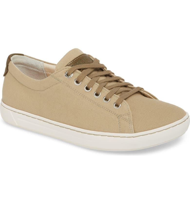 BIRKENSTOCK Arran Sneaker, Main, color, KHAKI CANVAS
