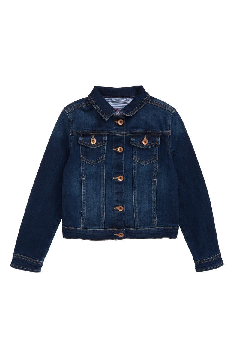 VINEYARD VINES Denim Jacket, Main, color, INDIGO