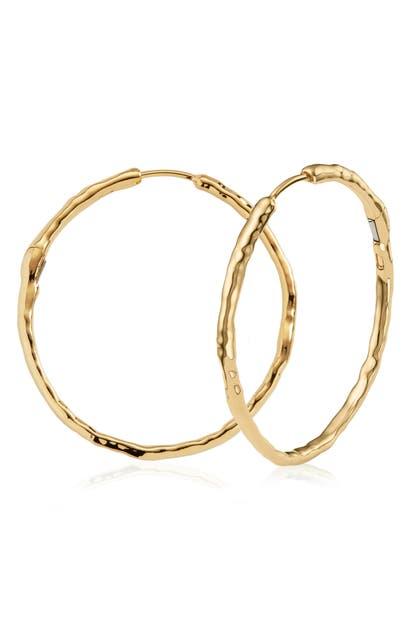 Monica Vinader Jewelry SIREN MUSE LARGE HOOP EARRINGS