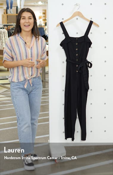 Sandy Toes Wide Leg Crop Jumpsuit, sales video thumbnail