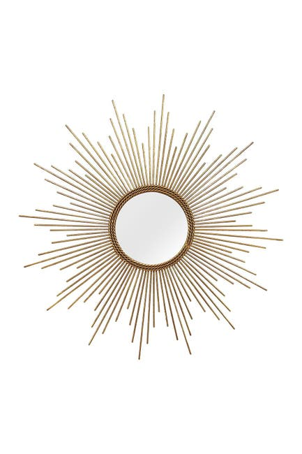 Image of Stratton Home Gold Andrea Wall Mirror