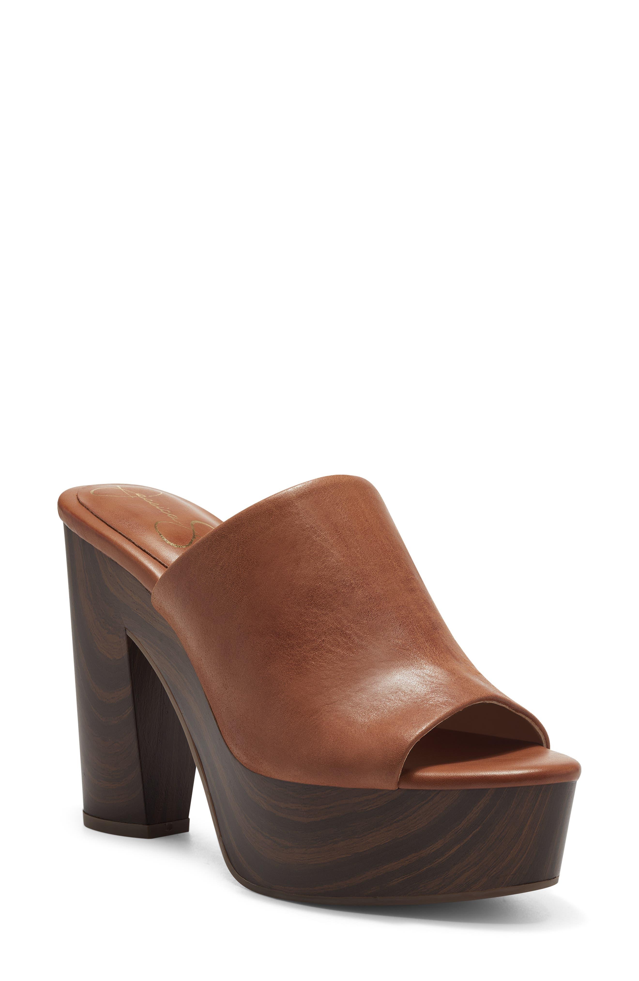 Shelbie Platform Slide Sandal