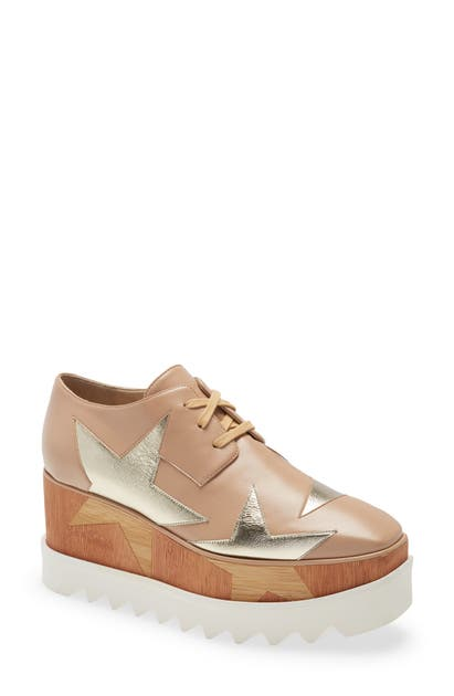 Stella Mccartney ELYSE STAR PLATFORM DERBY