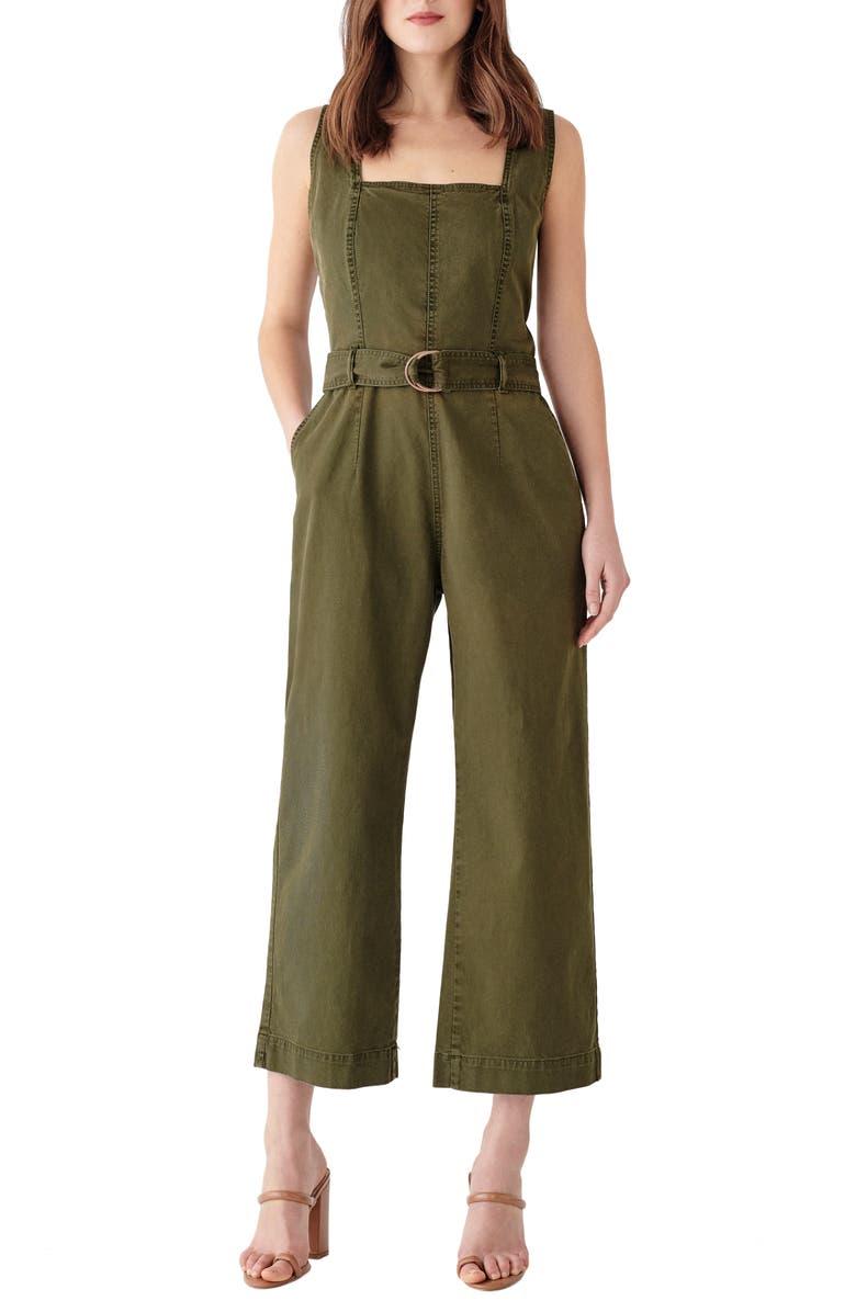 DL1961 x Marianna Hewitt Hepburn Crop Wide Leg Jumpsuit, Main, color, 305