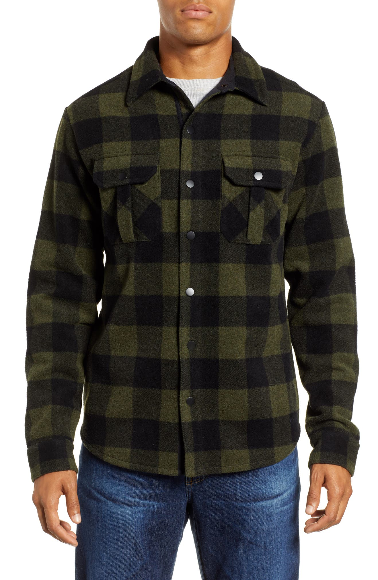 b35119a16221 Smartwool Anchor Line Flannel Shirt Jacket | Nordstrom