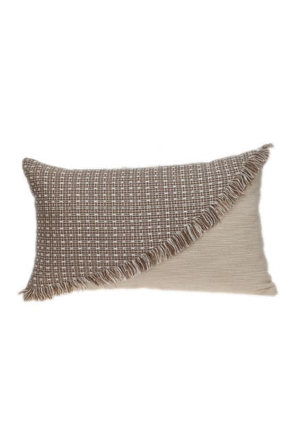 Image of Parkland Collection Nirvana Transitional Beige Throw Pillow
