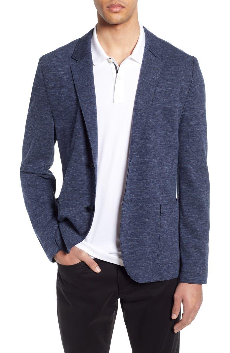 HUGO Slim Fit Double Knit Sport Coat, Main, color, 405