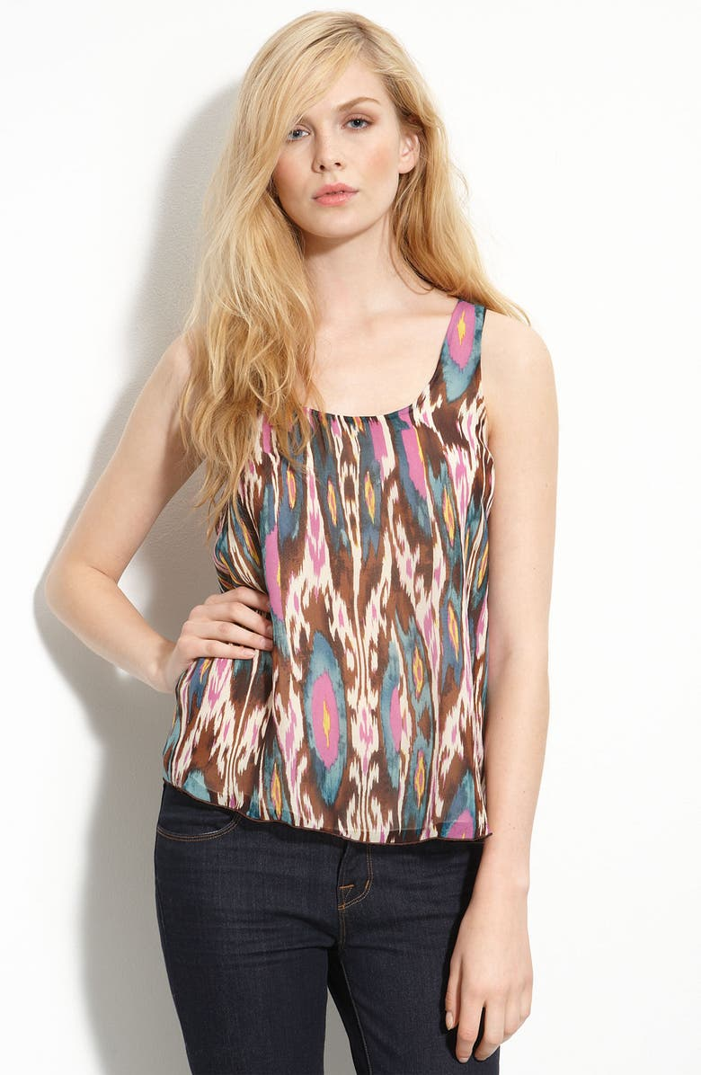 MAIDS RORY BECA Rory Beca Silk Ikat Tank, Main, color, 200