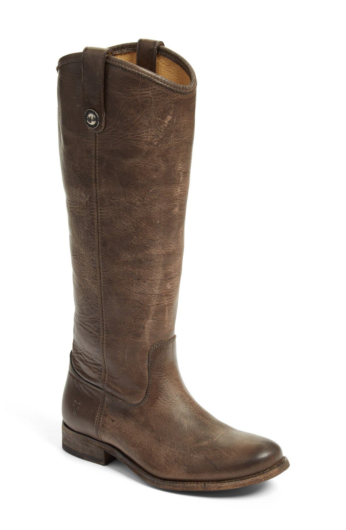 ,                             'Melissa Button' Leather Riding Boot,                             Main thumbnail 65, color,                             206