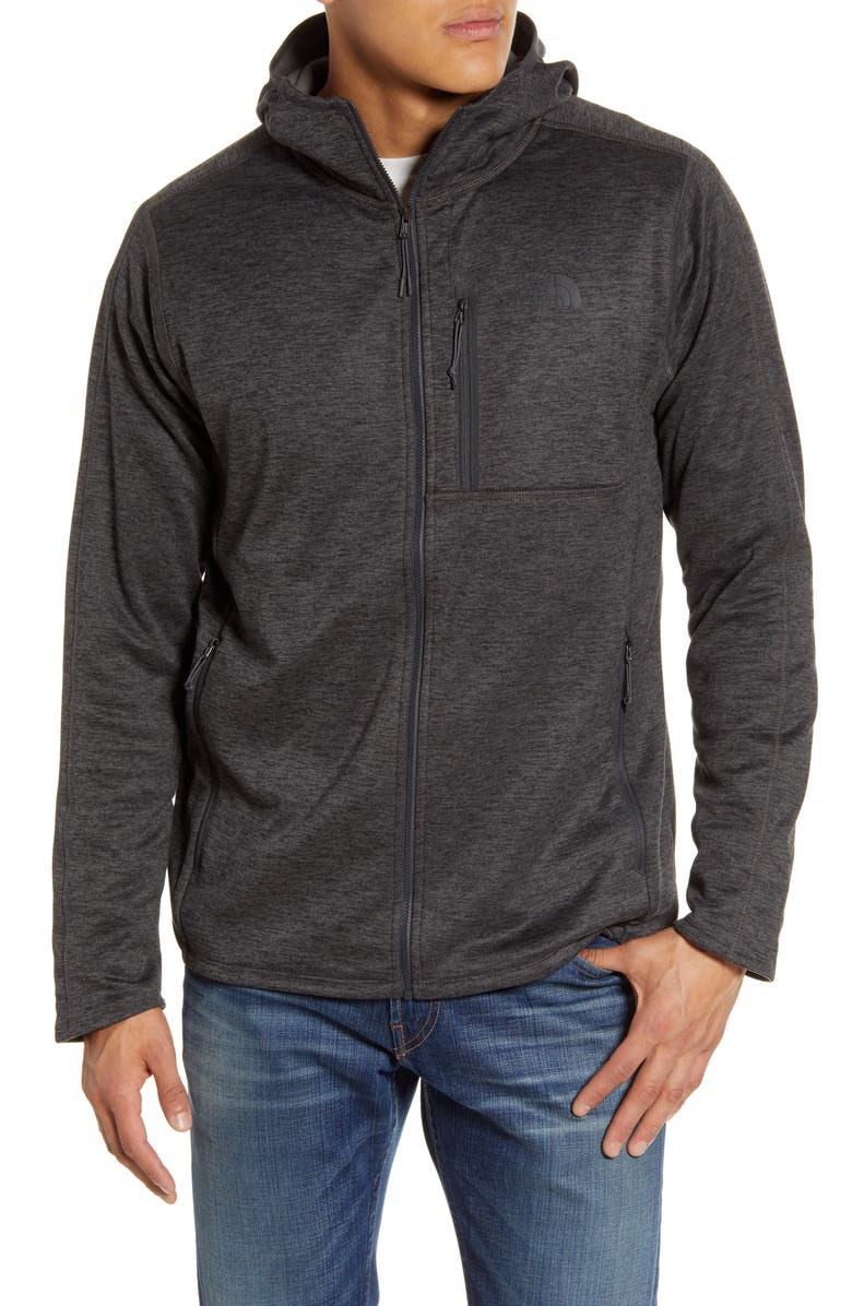 THE NORTH FACE Canyonlands Hooded Jacket, Main, color, TNF DARK GREY HEATHER