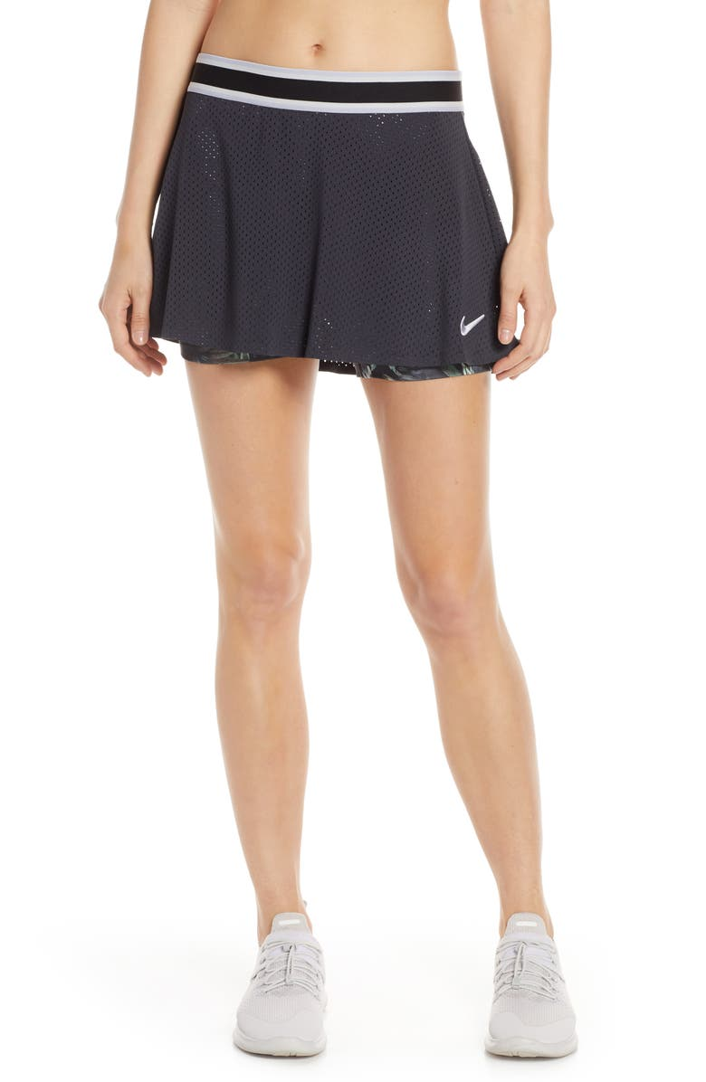 NIKE Court Tennis Skirt, Main, color, 010