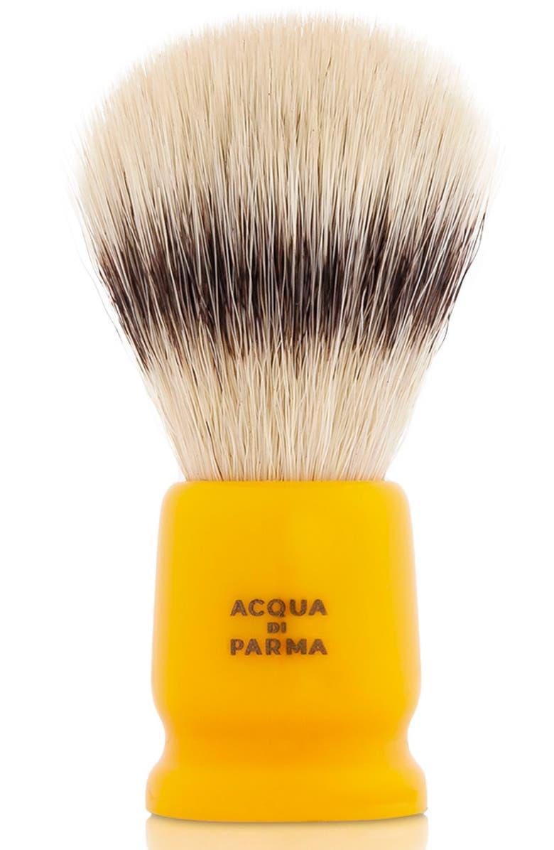 ACQUA DI PARMA Barbiere Yellow Travel Shaving Brush, Main, color, NO COLOR