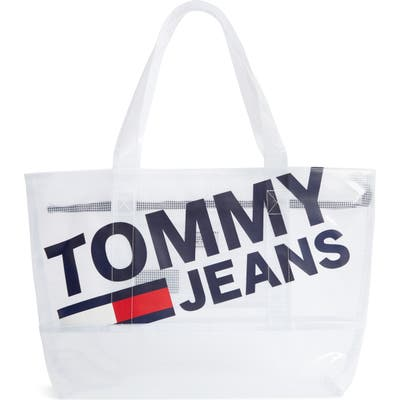Tommy Jeans Summer Mesh Tote - White