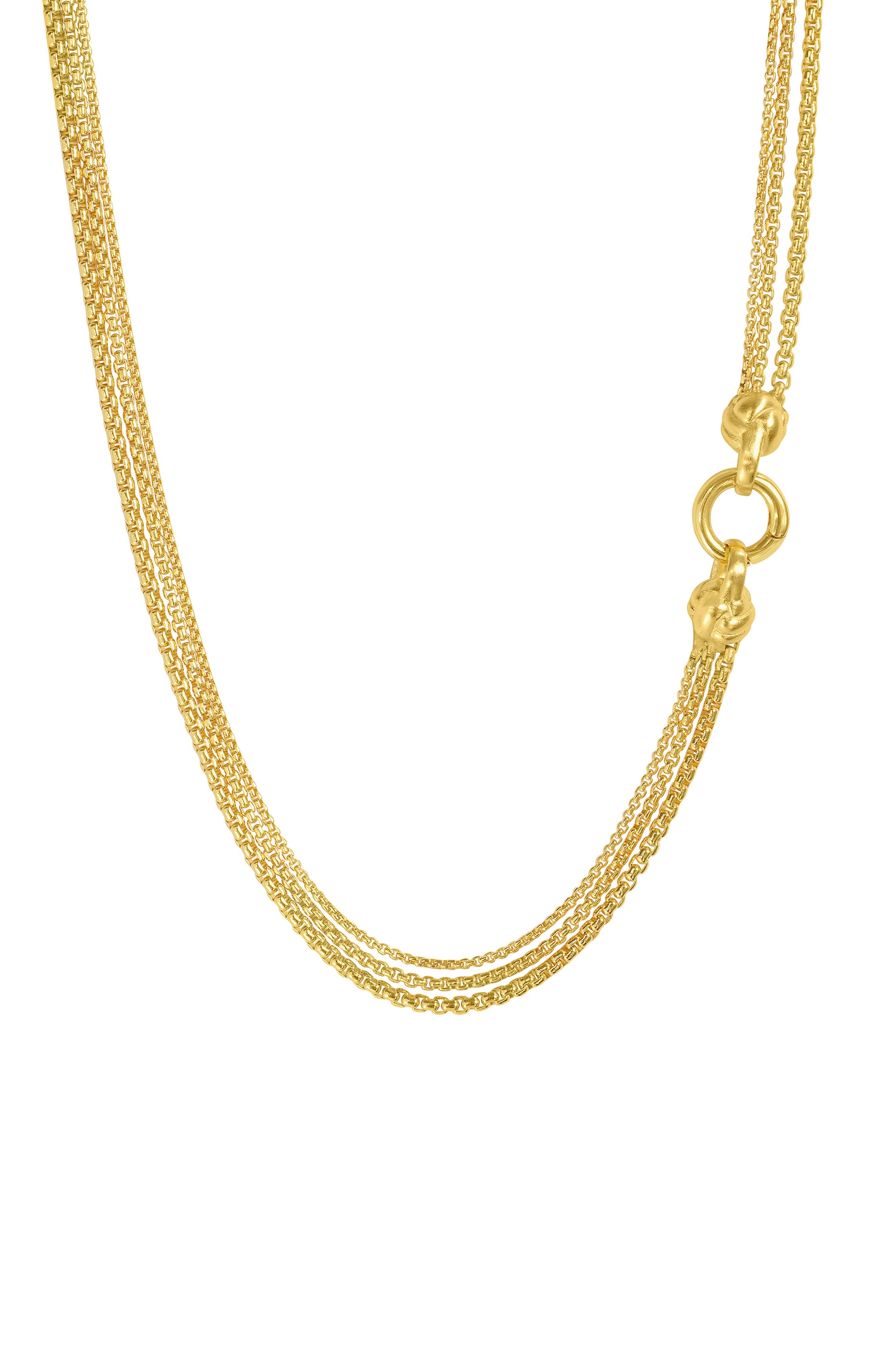 Weave Chain Necklace