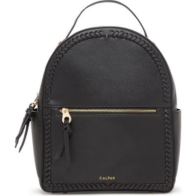 Calpak Kaya Faux Leather Round Backpack - Black