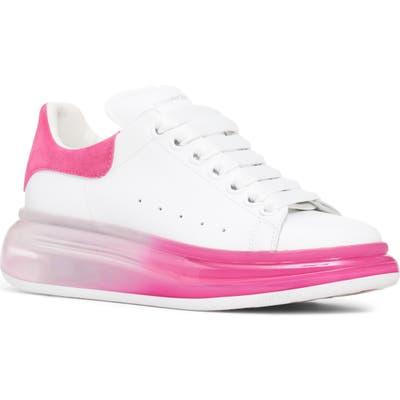 Alexander Mcqueen Ombre Platform Sneaker - White