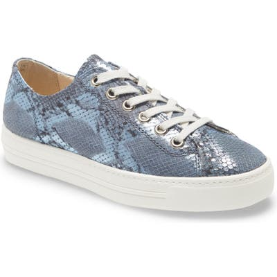 Paul Green Ally Low Top Sneaker, US / 6.5UK - Blue