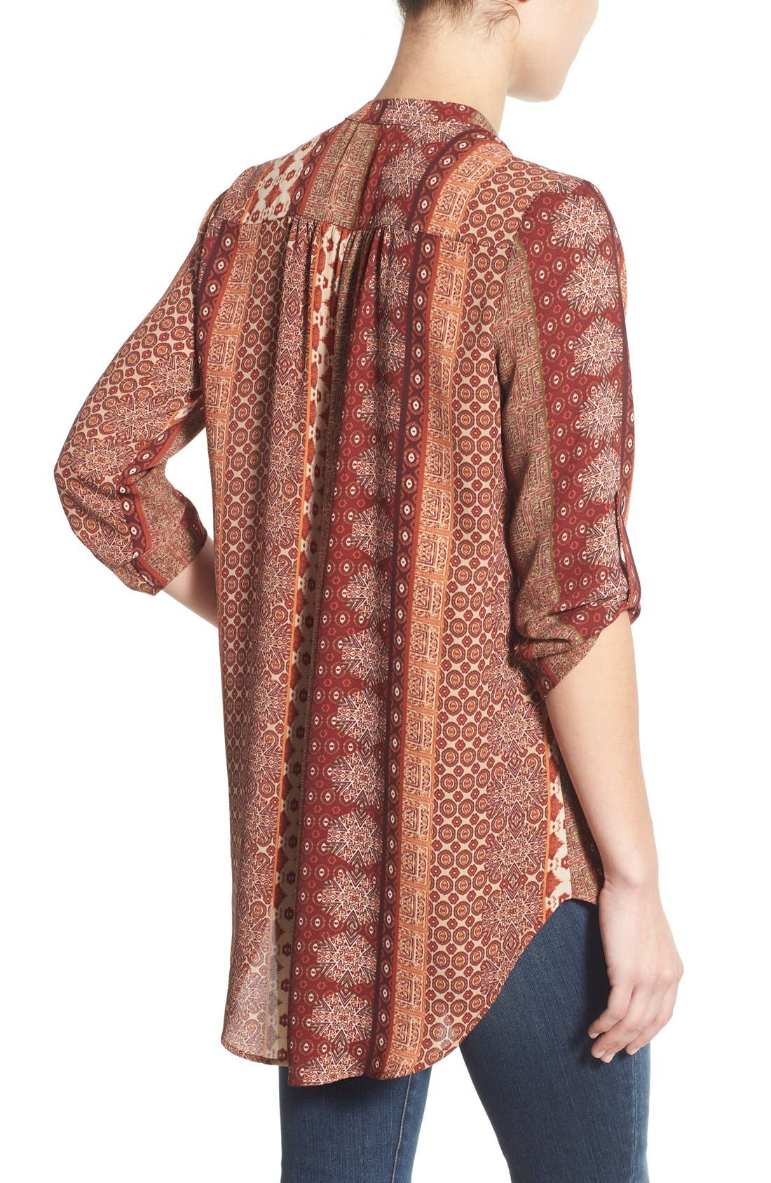 ,                             Perfect Roll Tab Sleeve Tunic,                             Alternate thumbnail 223, color,                             250
