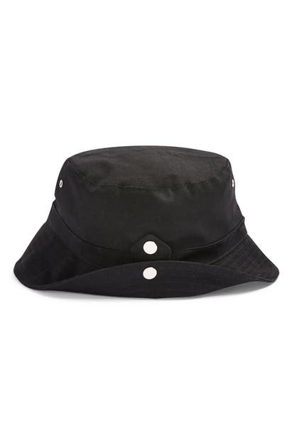 Topshop TWILL BUCKET HAT