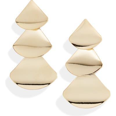 Ten79La Three Tiered Drop Earrings